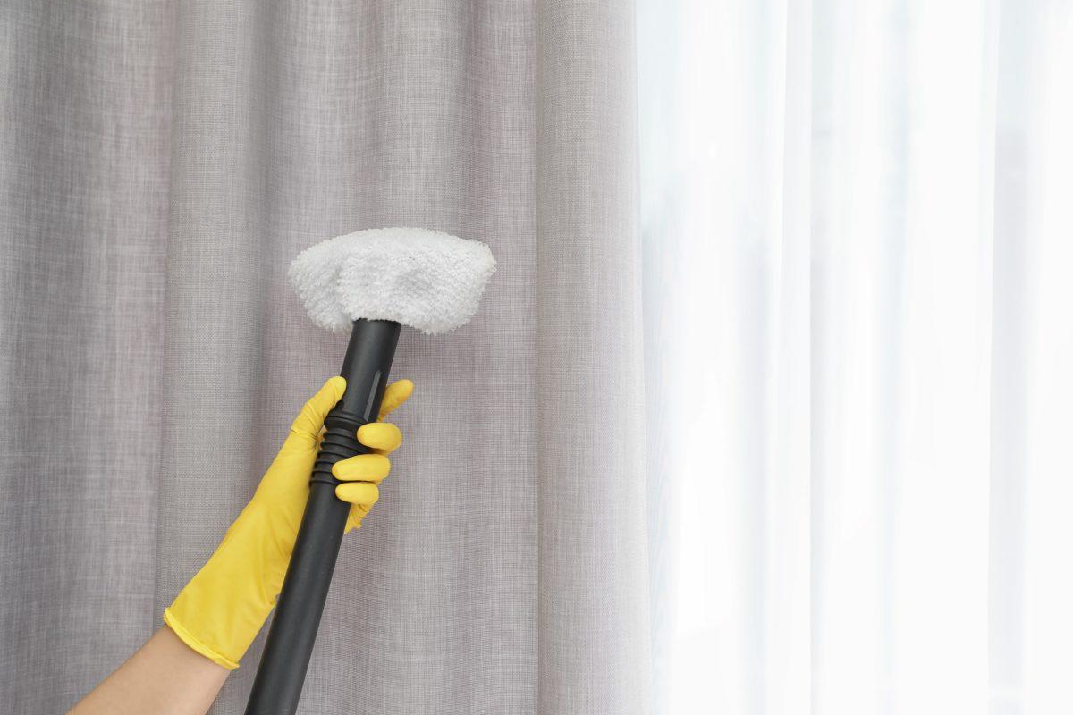 Сухая чистка штор