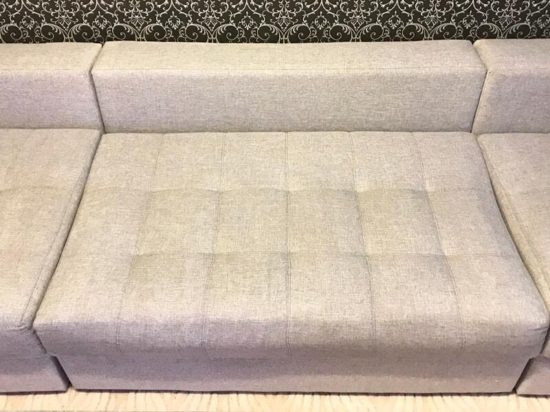 диван после химчистки