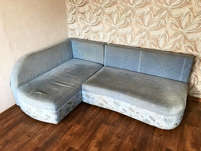 диван до химчистки