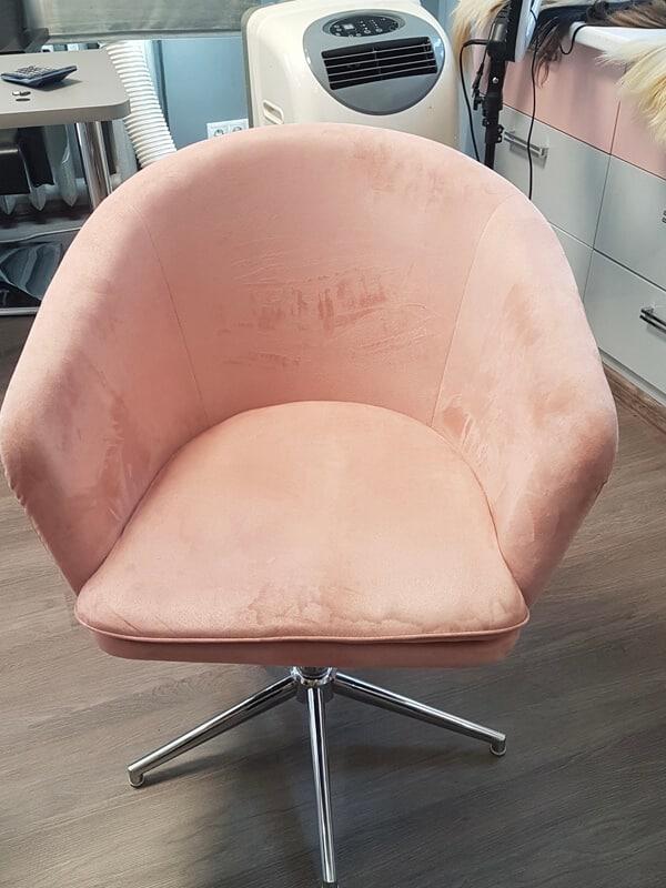 кресло до чистки