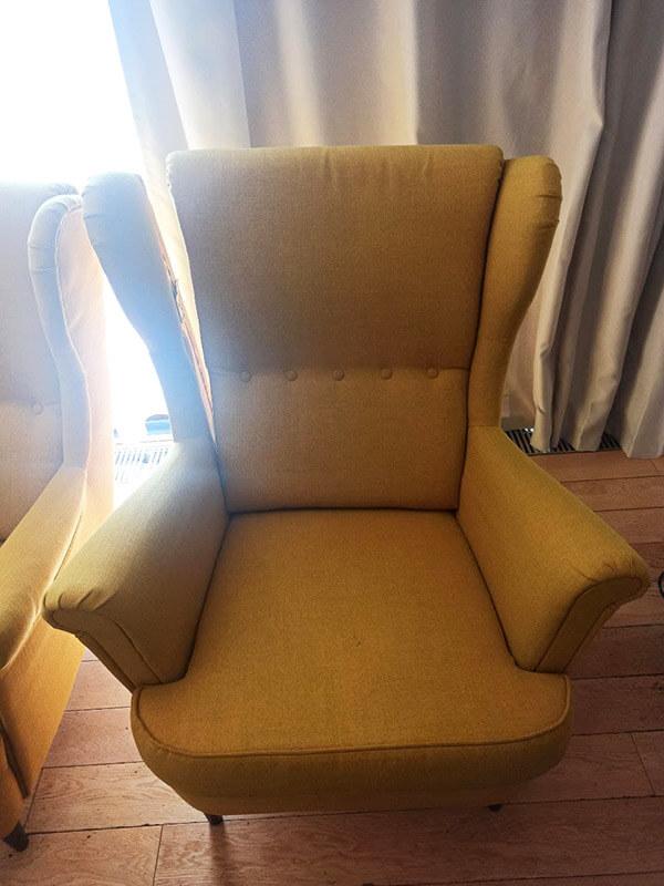 кресло после химчистки