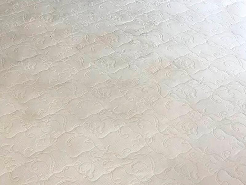матрас после чистки