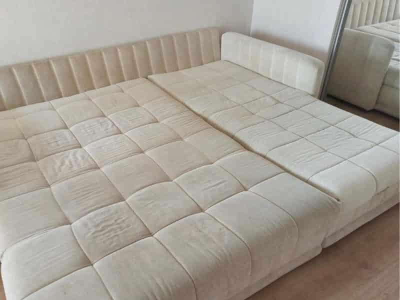 диван после чистки