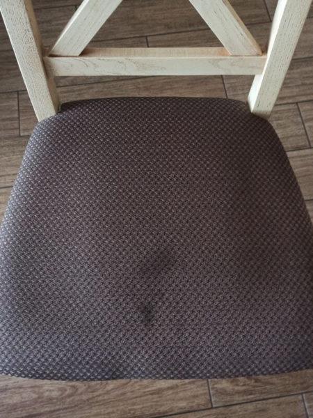 стул до химчистки